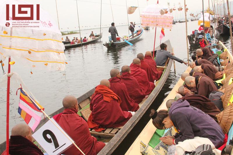 2014緬甸朝聖供僧