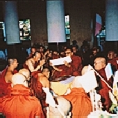 緬甸受阿羅漢戒
