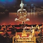 泰國僧王致贈金佛