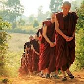 緬甸朝聖供萬僧暨短期出家修道會