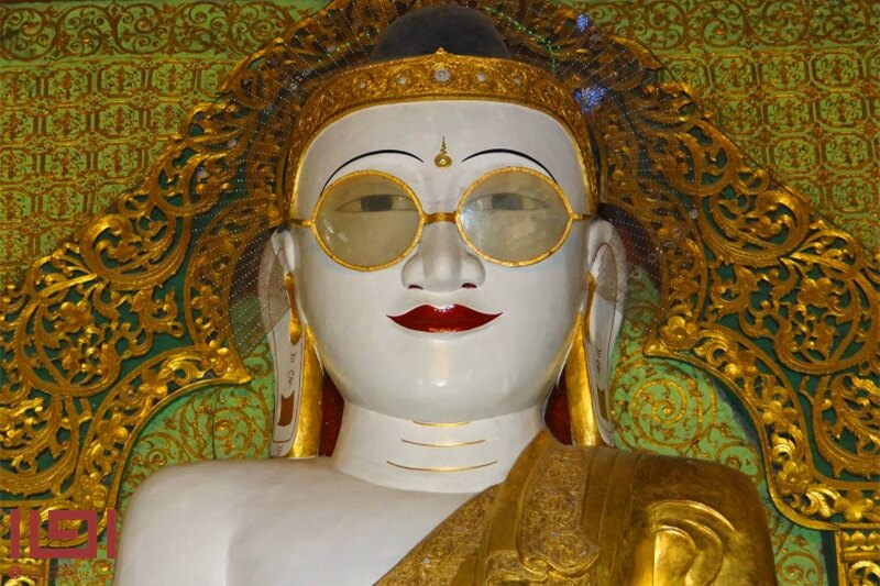 緬甸朝聖聖地-金眼鏡佛